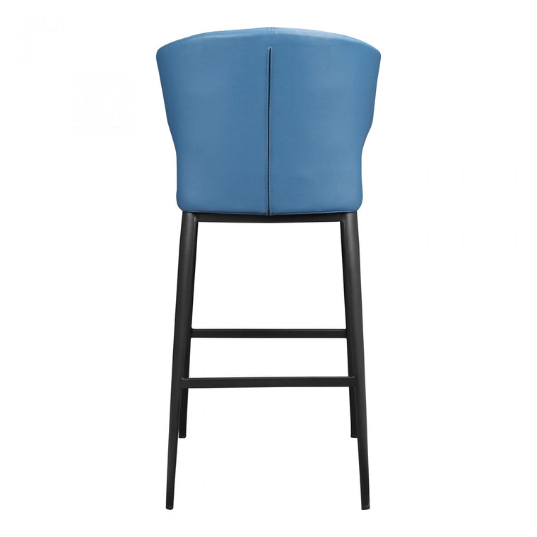 Anton Bar Stool Steel Blue
