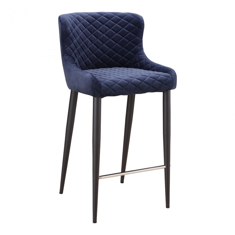 Careen Bar Stool Dark Blue