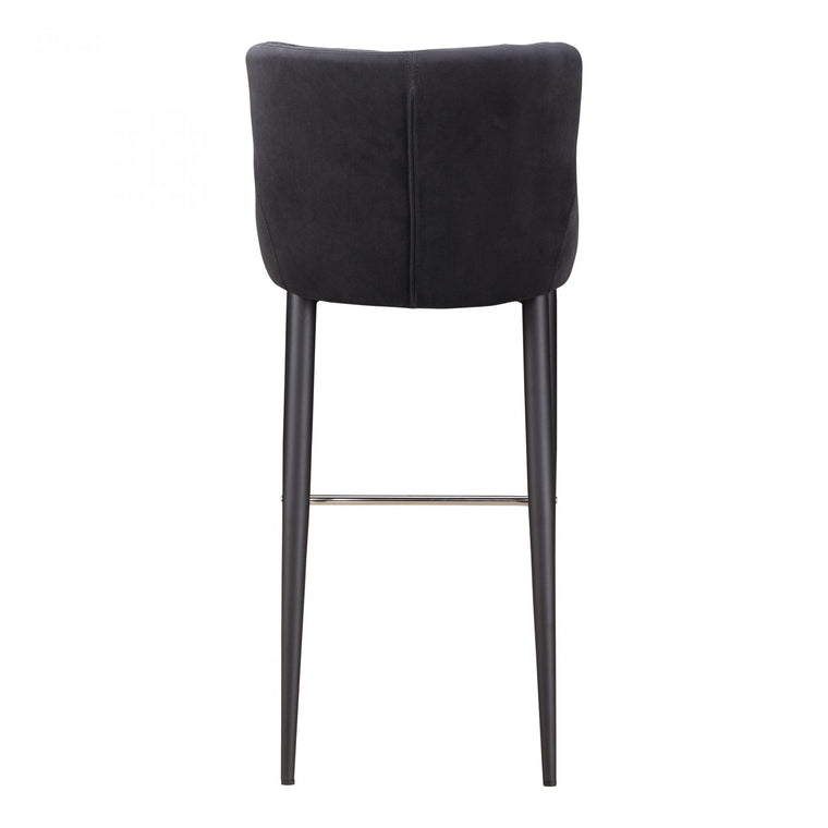 Careen Bar Stool Dark Grey