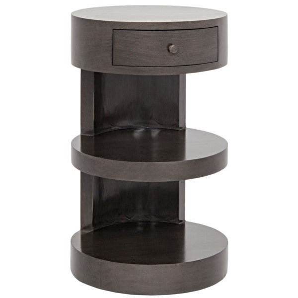 Spiro Side Table, Pale