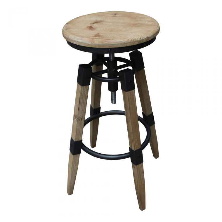 Marvela Adjustable Stool Natural