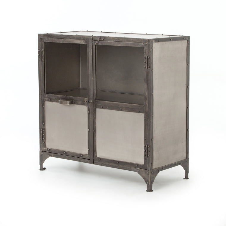 TESSA ANTIQUE NICKEL  SIDEBOARD