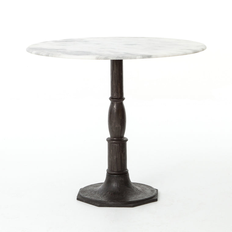 DONAHUE BISTRO TABLE-CARBON WASH