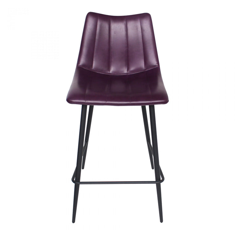Lorand Counter Stool Purple