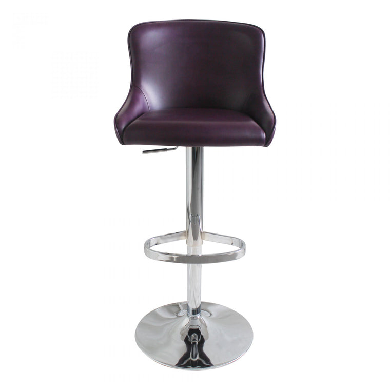 Eadric Adjustable Stool Purple