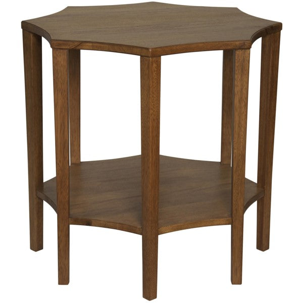 Delana Side Table, Dark Walnut