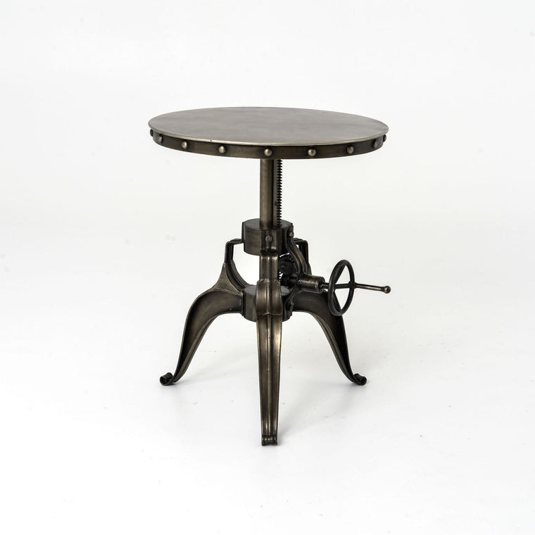Alannis Industrial Crank End Table 22