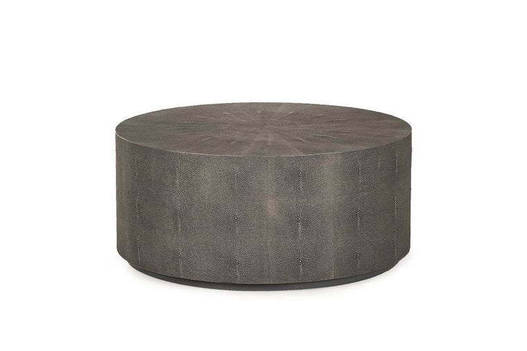 TABBART COCKTAIL TABLE (CHARCOAL SHAGREEN)