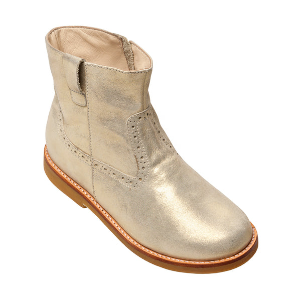 Madison Ankle Boot Gold
