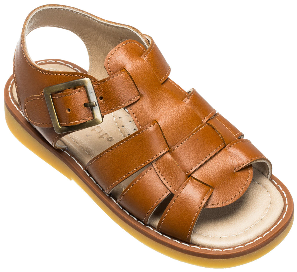 Fisherman Sandal Toddler Caramel
