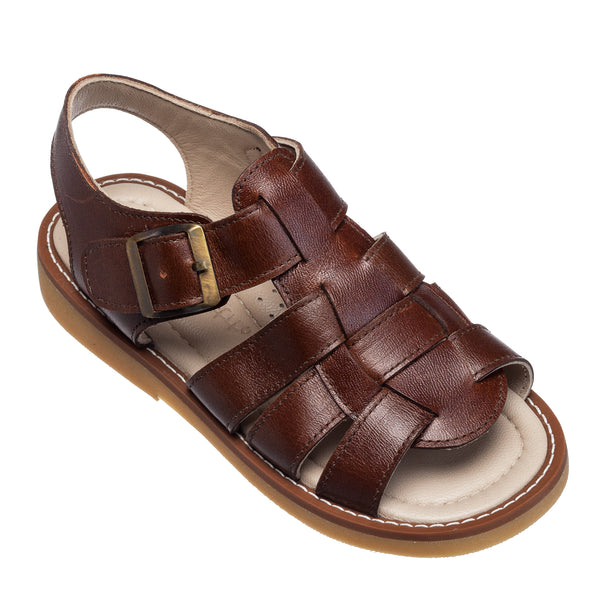 Fisherman Sandal Brown
