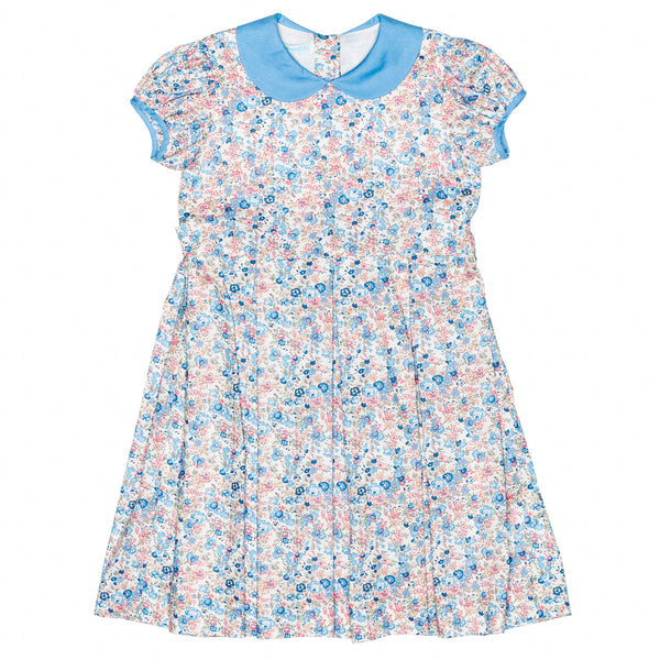 Liberty of London/Pink Floral Princess Dress w/Sash