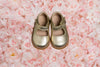 Mary Jane Toddler Metallic Gold