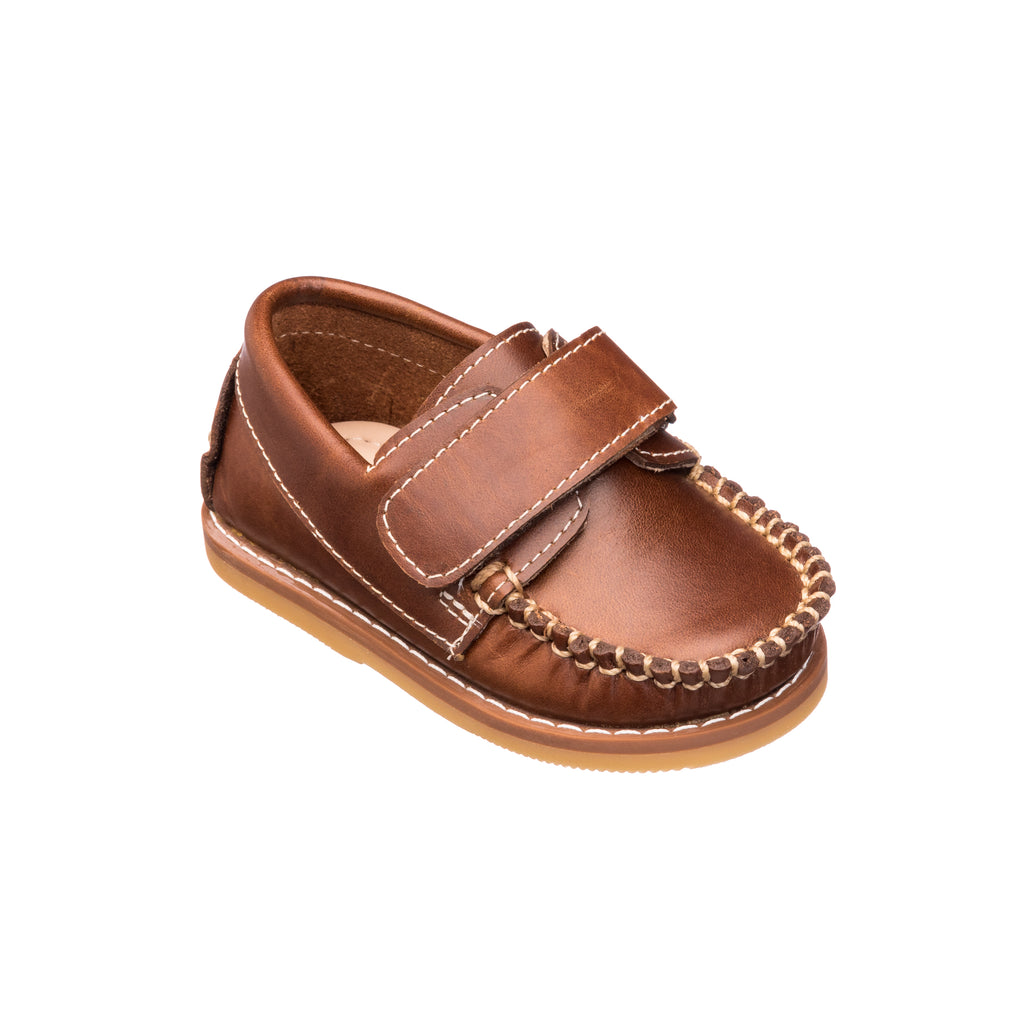 Nick Boating Shoe Toddlers Brown