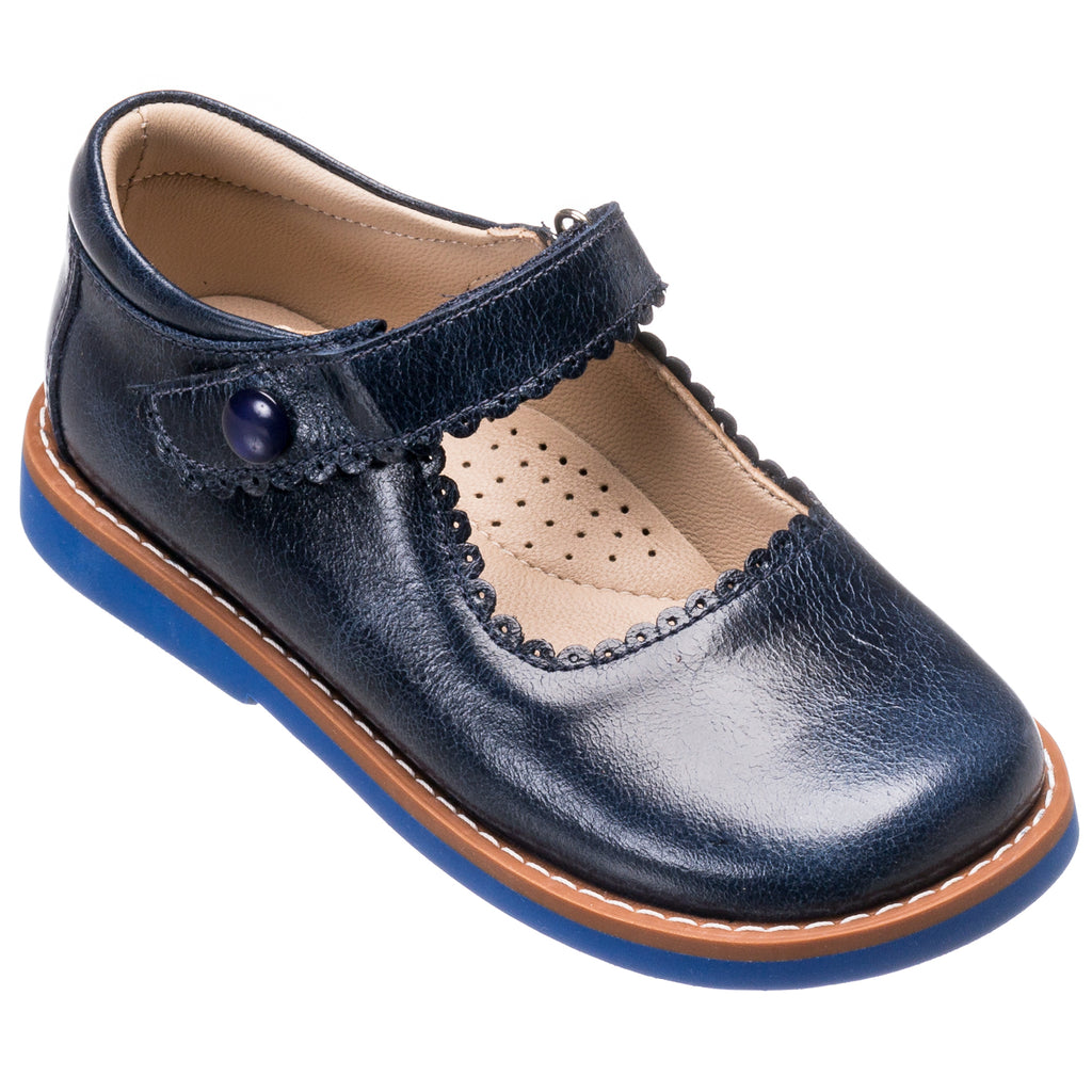 Mary Jane Toddler Lapiz Blue