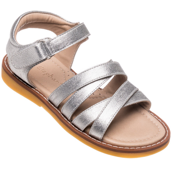 2C Sandals Toddler Silver