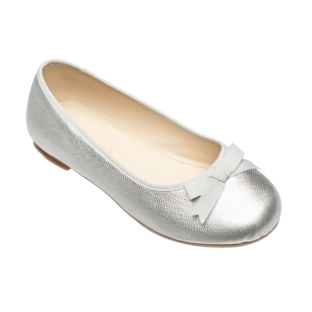 Paris Flat Metallic Silver