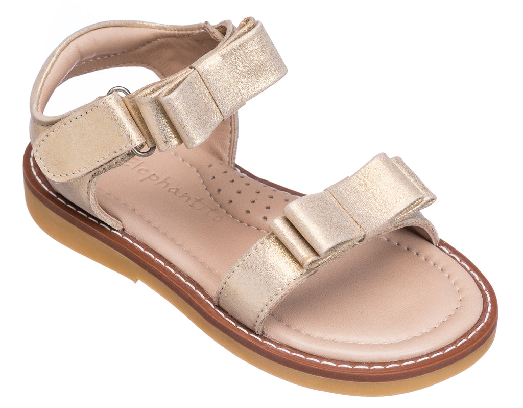 Nicole Sandal Toddlers Gold