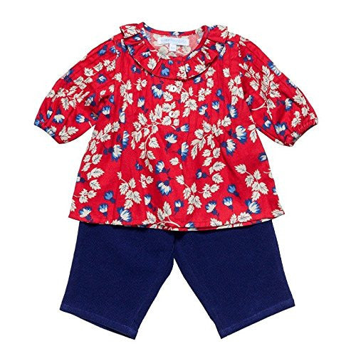Rouge Floral Baby Set