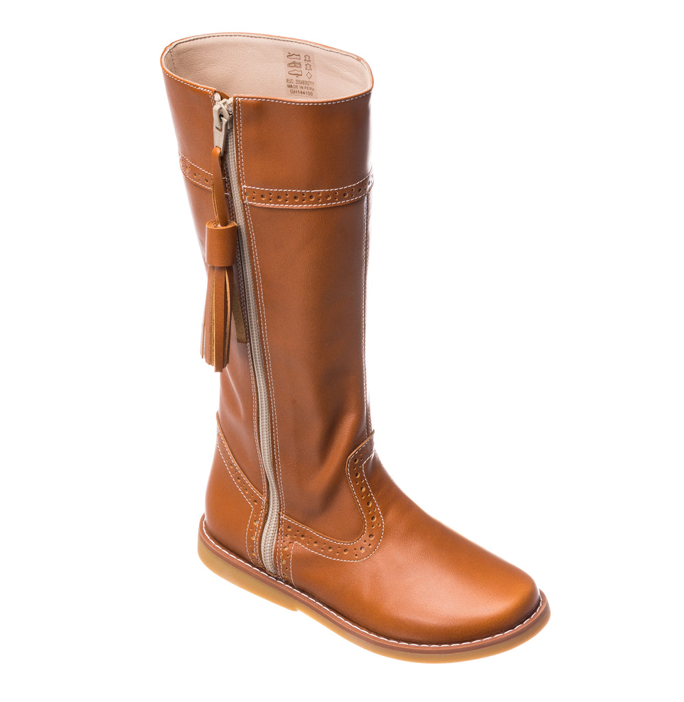 Elephantito Riding Boot Caramel
