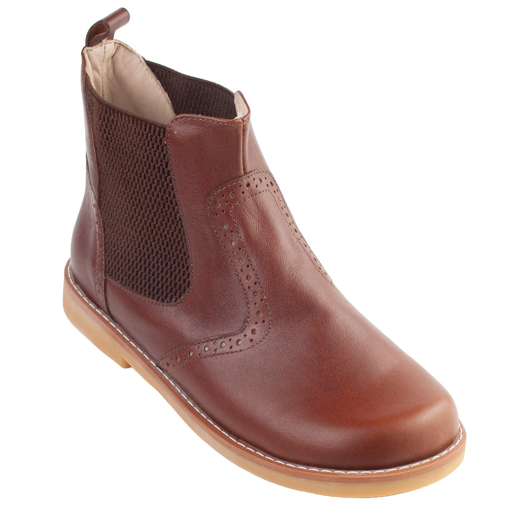 Leather Bootie Apache