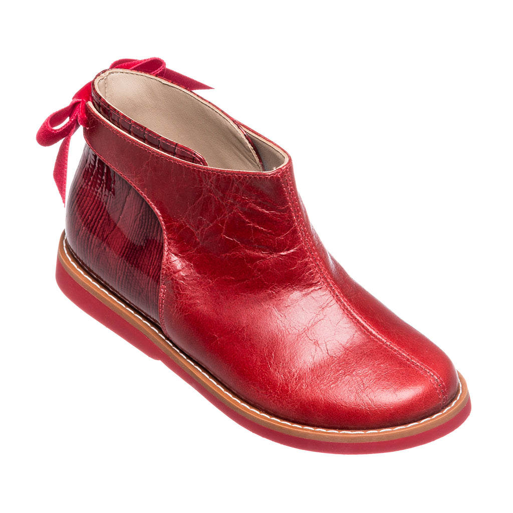 Anabelle Bootie Red