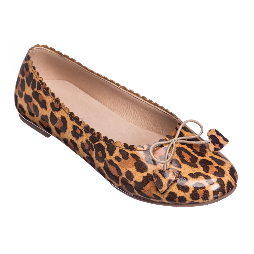 Scalloped Ballerina Leopard