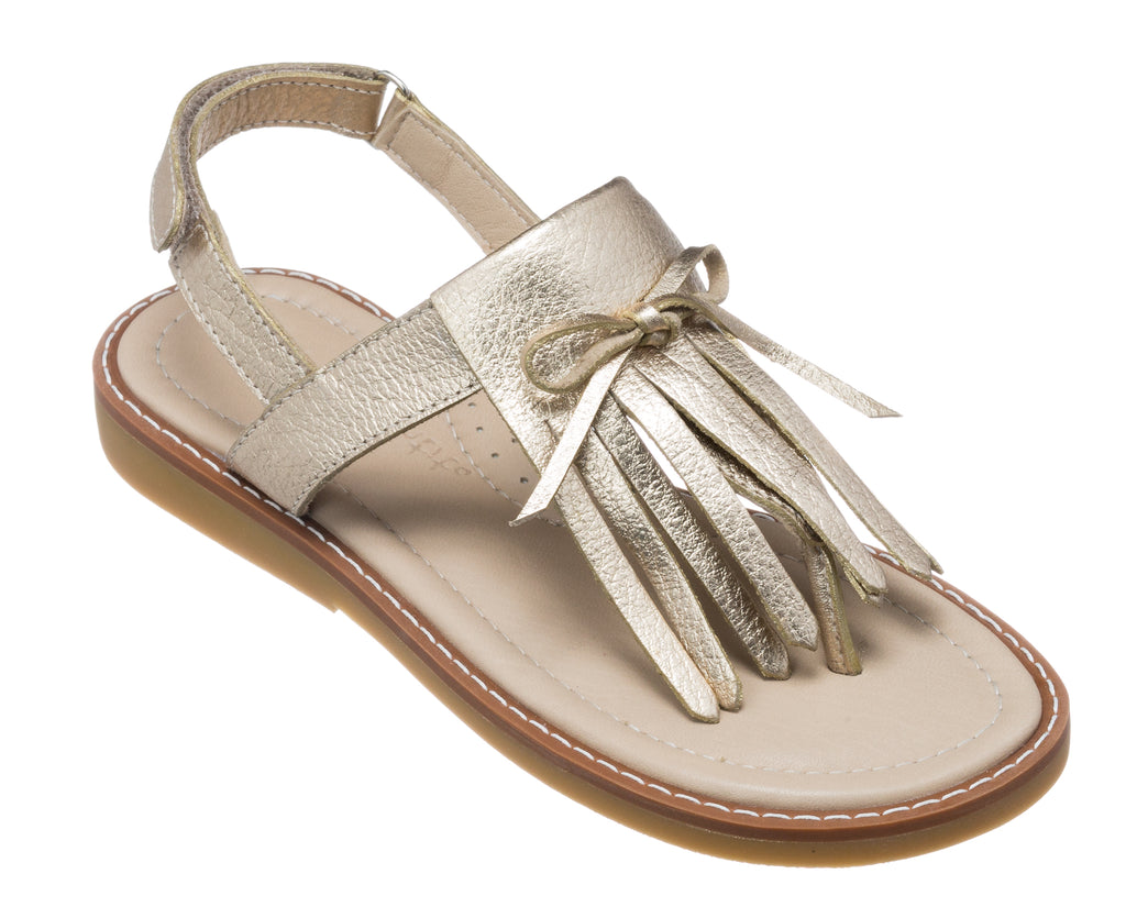 Fringes Sandal Gold