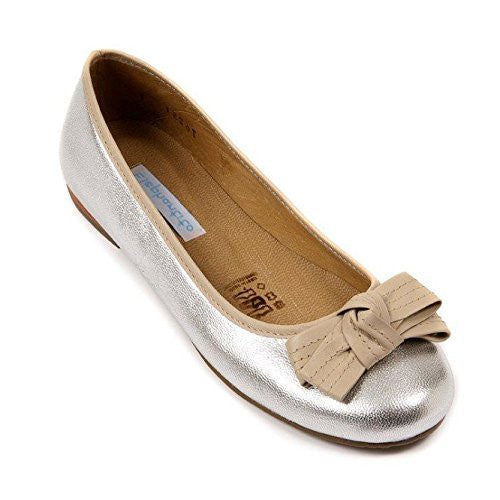 Alex Flat Metallic Silver