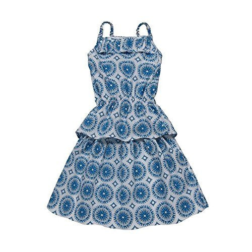 Azul 2 Piece set Top/Skirt