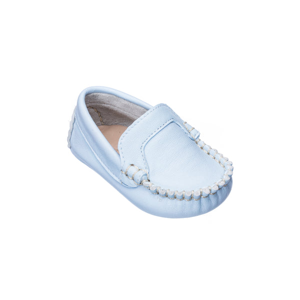 Moccasin for Baby Light Blue