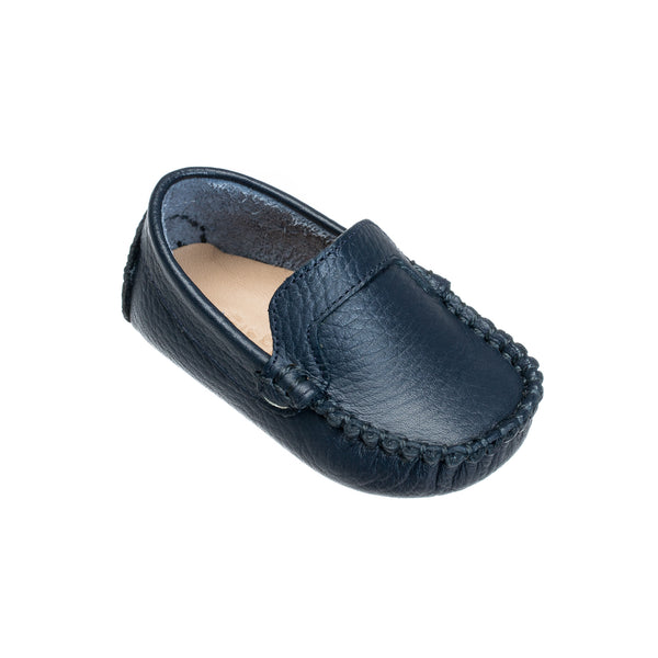 Moccasin for Baby Navy