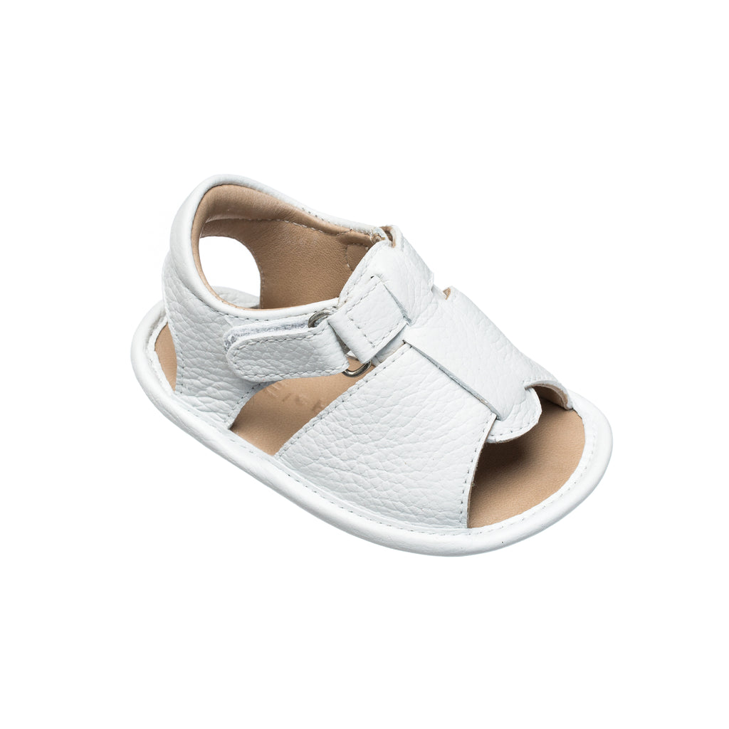 Baby Boy Sandal White