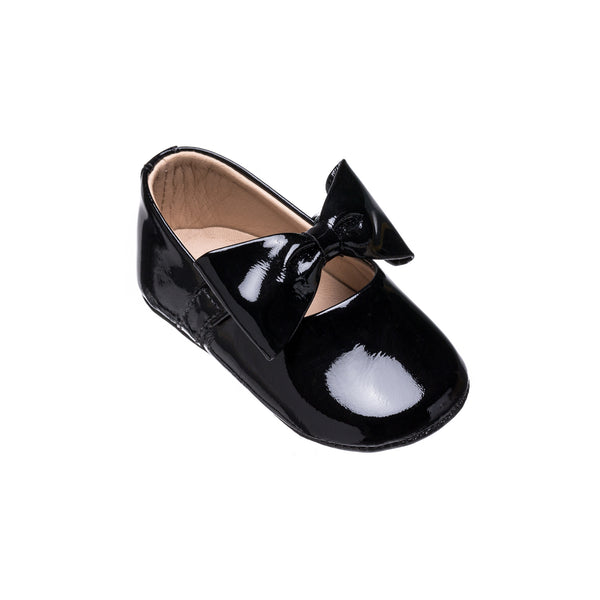 Baby Ballerina with Bow PTN Black