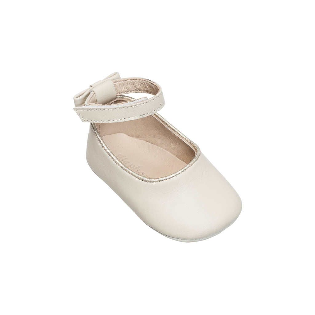Baby Ballet Flats Ivory