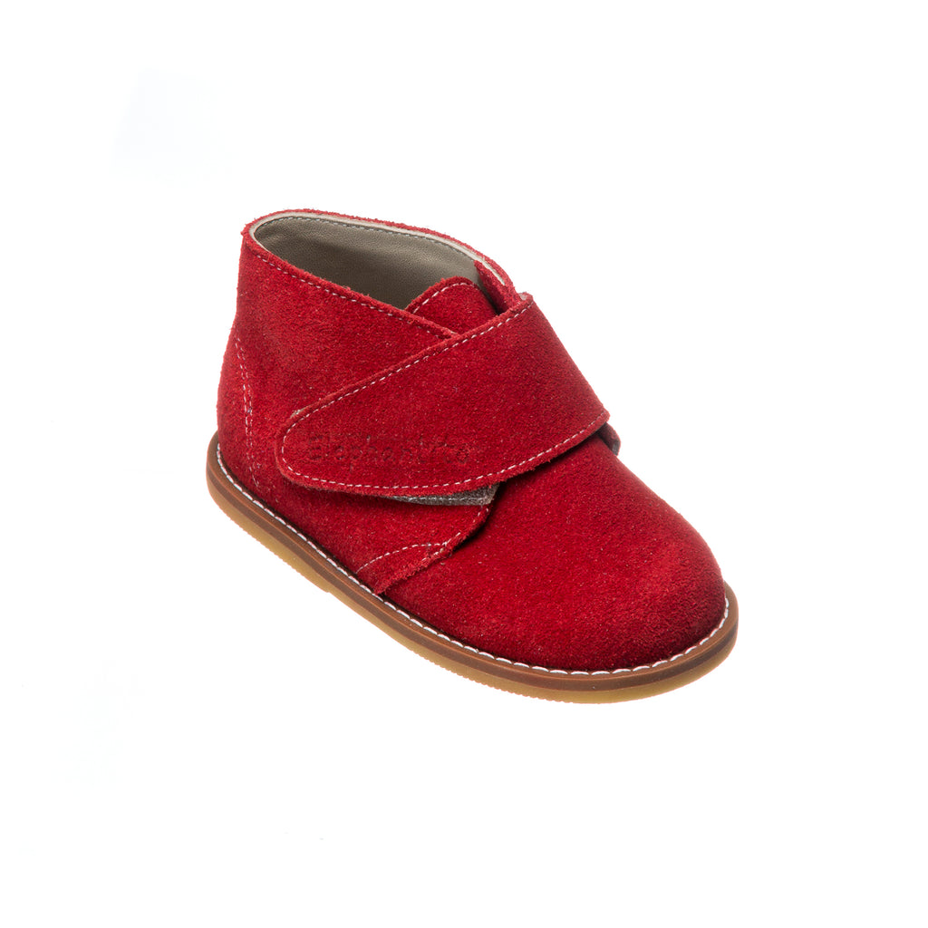 Bootie Suede Red