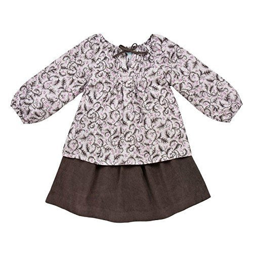 Blueberry Blouse & Skirt Set