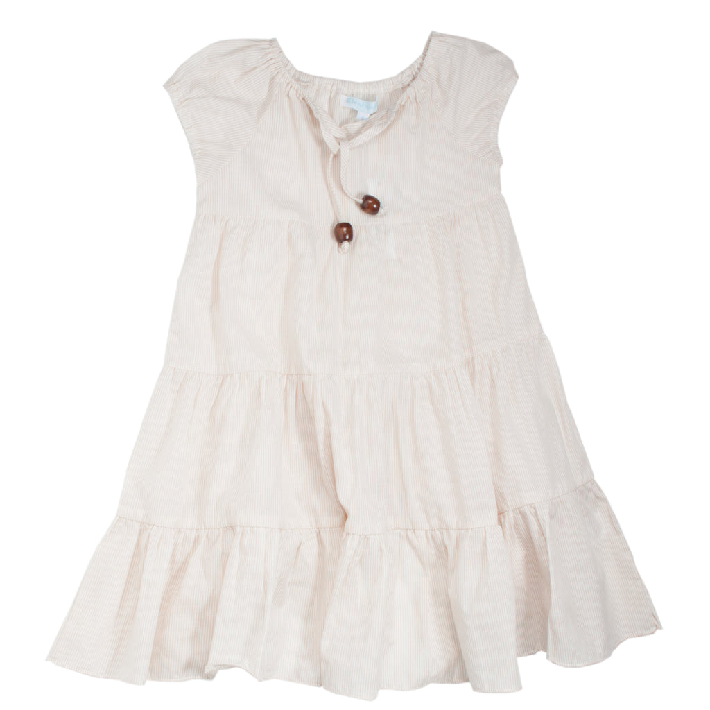 Tiered Ivory Dress