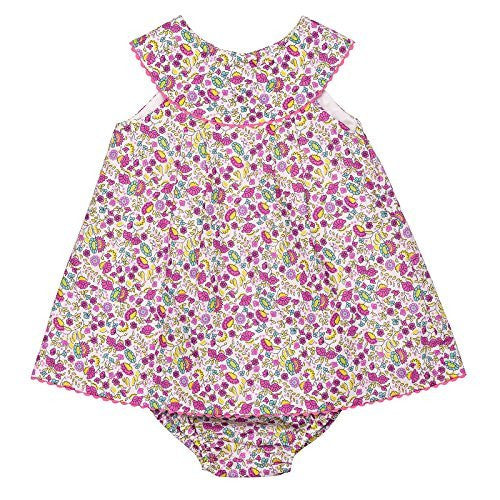 Carmine Baby Dress w/Bloomer