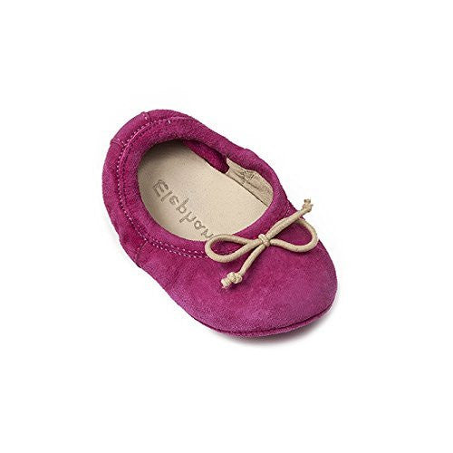 Crib Alessia Flat Suede Bright Pink