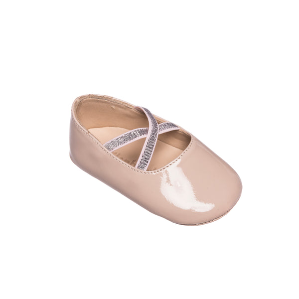 Crossed Ballerina Baby PTN Blush