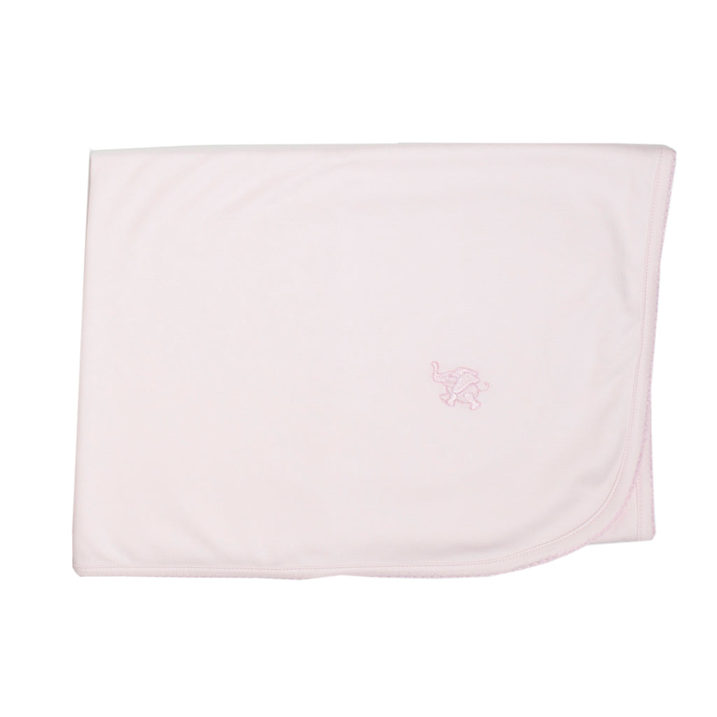 Pink Pima Cotton Blanket