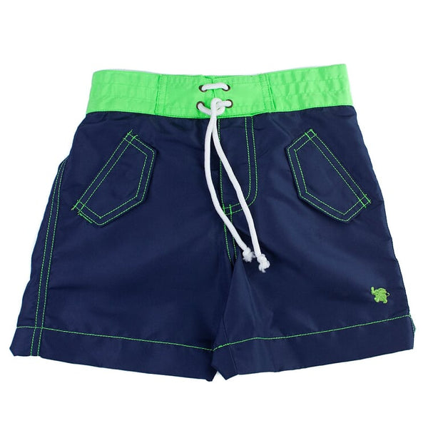 Navy Trunk Short