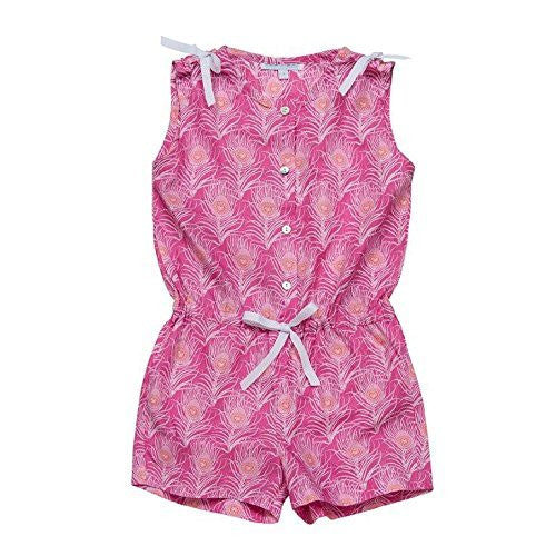 Feathers Romper for Girls