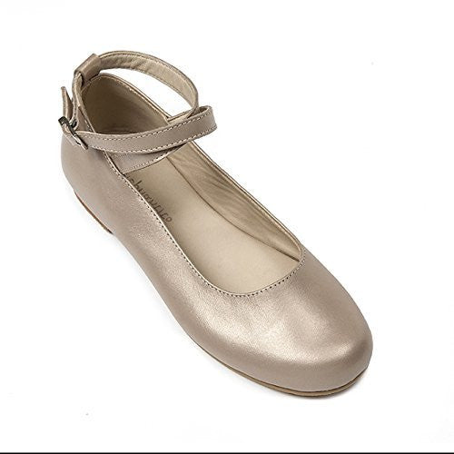French Ballet Flat Champagne