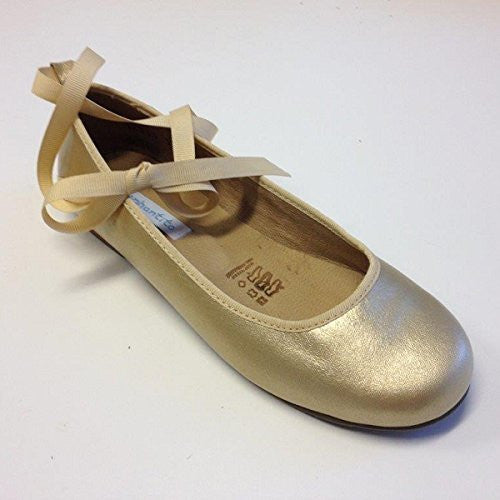 Grace Ballet Metallic Gold