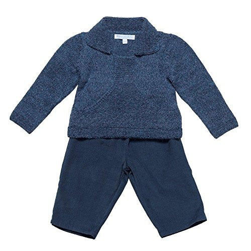 Indigo Baby Sweater Set