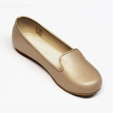 Leather Slipper Champagne