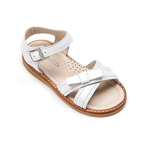Lili Crossed Sandal Toddler White