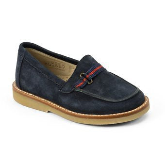 Loafer with gross Nubuck Navy